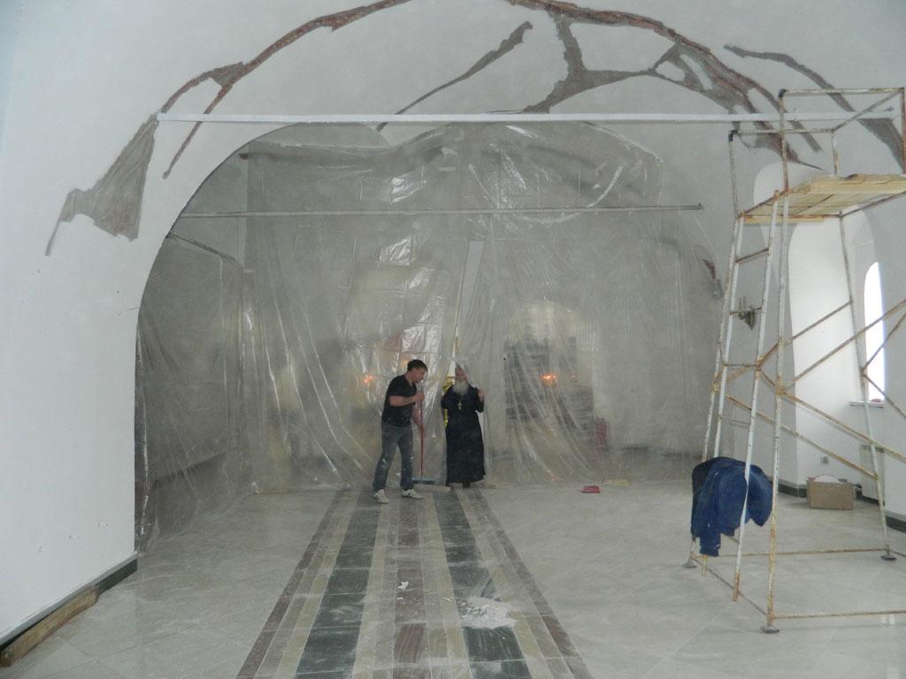 Ремонт в храме